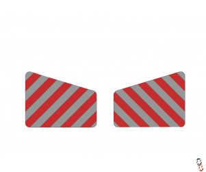 Handiweight/Handibox Chevron Sticker Set (Large)