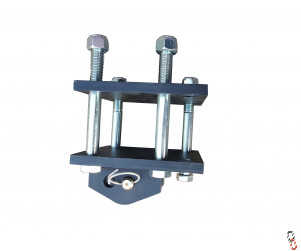 Universal Eradicator Tine Bracket Kit c/w fixings