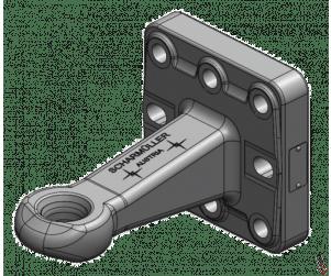 Scharmuller (40mm) Hitch 8 Bolt Flange OEM:00654240A02
