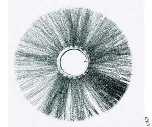 """Wire Rotary Brush Segment Replacement Wire Bristle 27"""" c/w 7"""" bore (610mmx178mm)"""