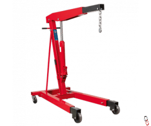 Sealey Fixed Frame Engine Crane 3 tonne with Extendable Legs