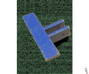 Moore Unidrill Rear Press Wheel Scraper Short 190mm (T-Bar)