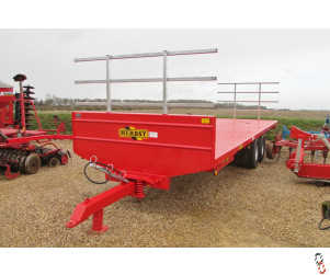 NEW HERBST 12T Bale Trailers