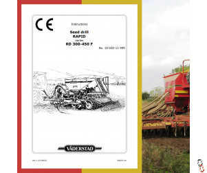 Vaderstad Rapid Instructional Manuals, Free Download