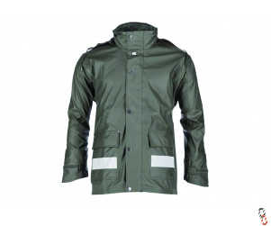 Green Waterproof Raincoat, Range of Sizes