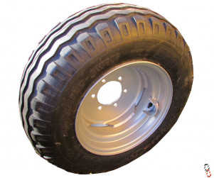 NEW 10.0/75 x 15.3 Wheel & Tyre assembly **for 2wd 6 stud tractor fronts - 152mm PCD / 118mm Diameter centre hole**