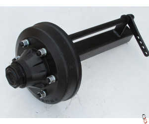 NEW 70mm ADR Braked Stub Axle, 6 stud,