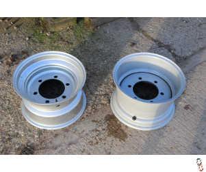 16x17 Silver Wheel Rim
