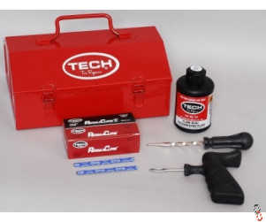 Tech Permacure Puncture Repair Kit, Car Tyre Kit