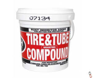 Tech 722 Tyre & Tube Mounting Compound with Rust Inhibitor, 11.34 kg bucket