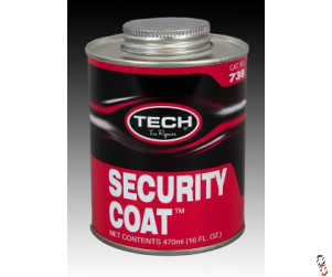 Tech 738 Security Coat over-buff inner liner sealant, 470 ml Can