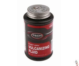 Tech 760 Puncture Repair Fast Dry Vulcanising Fluid, 235 ml Can