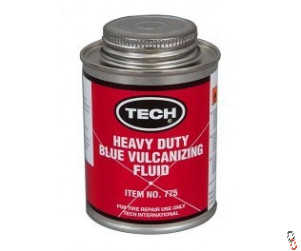 Tech 775 Puncture Repair Heavy Duty Blue Vulcanising Cement, 235 ml can