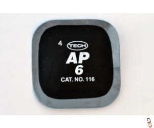 Tech 116 Square All-Purpose 55 mm Patch, 65 pk