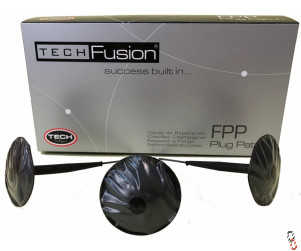 Tech FPP4.5 Fusion Plug Puncture Repair Patch, 24/box