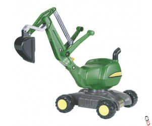 Rolly Farm Toy John Deere Digger with wheels Ride-On