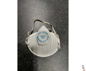 Moldex FFP3 disposable mask with valve, pk/20