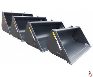 Strimech PRO-AG Grain Bucket - New - Choice of 1.5m3, 2.0m3, 2.5m3, 3.0m3 on Telehandler Brackets