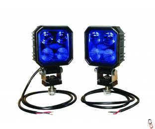 LED Blue Sprayer Work light set 9W 1000lm