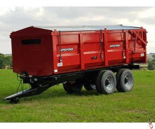 PROFORGE ACE 14 Tonne Grain Trailer, NEW, Hyd Door, Sprung Drawbar - 1 Arrived in stock !