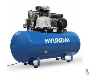 Hyundai 200 Litre Air Compressor, New, 14CFM/145psi, Electric 3hp | HY3200S