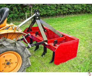 BOX GRADER LEVELLING BLADE with Adjustable Tines, Category 1, Choice of 3 sizes - Stock Arrived!