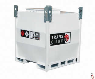 NEW FUEL TANK - TRANSCUBE WESTERN Contract 880 Litre 10TCC Portable Bunded Steel IBC