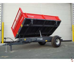 HERCULANO 3.0 tonne 3-Way-Tip Dropside Trailer, NEW  - Back In Stock !