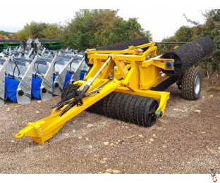 """NEW TWOSE McCONNEL 15.4 Metre Rolls, 2021, 9990kg, 600mm (24"""") rings/breakers, 1 set available from stock"""
