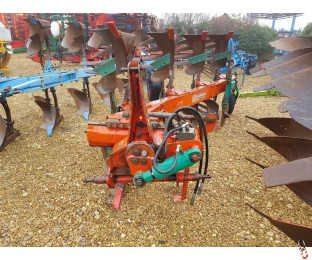 KVERNELAND LD85/160 Plough, 3 + 1, Slatted bodies
