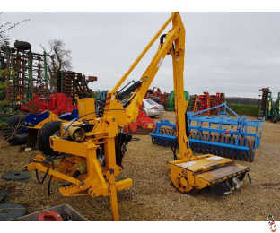 McConnel PA590 Hedgecutter, 3 point linkage, Power Slew, 5.9 metre reach, Joystick