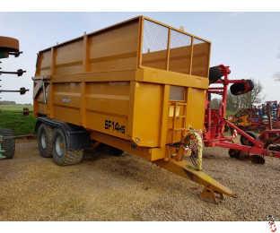 RICHARD WESTERN 14 tonne Hi-Side High Speed, 2015, Silage Sides