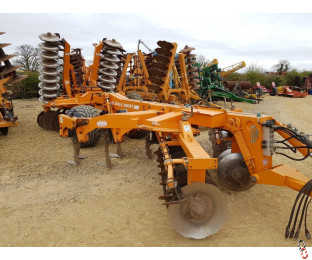 SIMBA SOLO 380ST, 3.8 metre Trailed Disc Tine Disc Press Cultivator