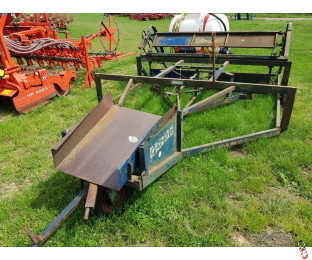 COOKS FLAT 8 Windrowing Bale Sledge with hyd release