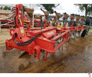KVERNELAND LO85-300 Plough, 7 furrow, 6 + 1, On Land In Furrow, 2015, No. 28 Bodies