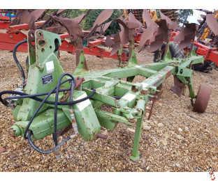 "DOWDESWELL DP8B Plough, 2007, 3+1 (4 furrow) 12"" UCN, skims"