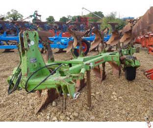 "DOWDESWELL DP7D2 Plough, 12"", 4 + 1 (5 furrow), UCN"