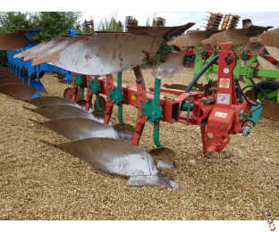 KVERNELAND LD85/160 Plough, 4  furrow, No.8 Bodies, Manual Variwidth