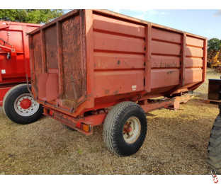 FOSTER 6 Tonne Single Axle Tipping Grain Trailer, Hyd Brakes,