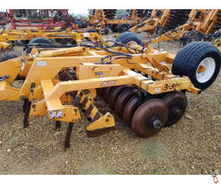 SIMBA CULTIPRESS 3.3 metre, DD Rings, Hyd Levelling Boards