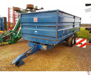 AS MARSTON 12 tonne D12 Dropside Grain Trailer