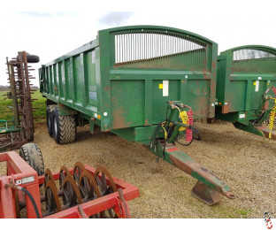 BAILEY 15 Tonne Root/Grain Trailer, 2005, Air & Oil Brakes, (2 of 2 - Matching Pair)
