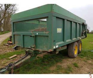 BAILEY 10 tonne Grain Trailer, Hyd Door, Super Singles