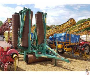 """COUSINS CONTOUR 12.3 metre Rolls, 24"""" Plain Rings, 2010"""