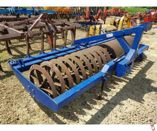 LYNX 3 metre Front Press, 45 Degree rings, leading tines