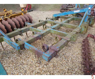 BLENCH 5 metre 16ft Pigtail Cultivator, Rear Coil, Good, Non Folding