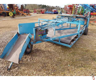 RITCHIE COOKS Super Windrowing Sledge, Flat 8 Belt Sledge