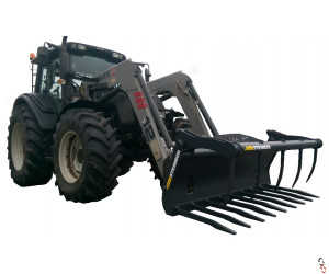 PRO-AG Power Muck Grab - High Tensile for Loaders & Skidsteers
