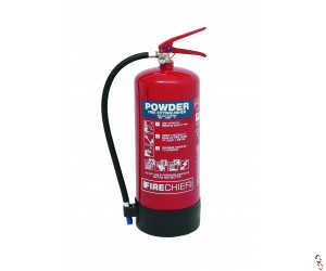Fire Extinguisher 9kg Dry Powder Firechief
