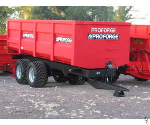 PROFORGE ACE 14 Tonne Grain Trailer, NEW, Standard Door, Sprung Drawbar - In Stock